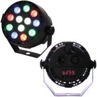 Proiector mini PAR LED RGBX, 12 x 1 W, LED, 7 canale