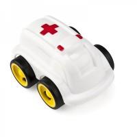 Minimobil Miniland, 12 cm, model ambulanta