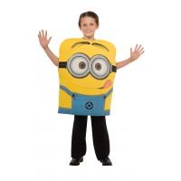 Costum pentru copii Minion Dave, varsta 5-6 ani, marime M