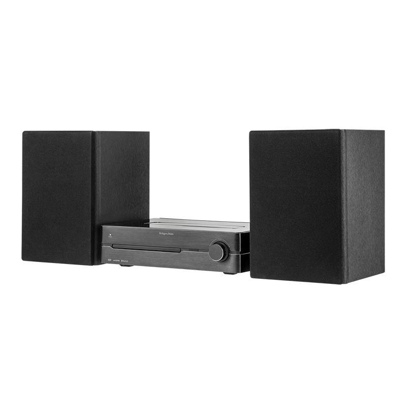 Mini Sistem audio Kruger & Matz, DVD, HDMI, USB, Bluetooth, NFC, DAB 2021 shopu.ro