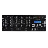 Mixer BST cu 5 canale, USB/SD, 9 intrari, afisaj LCD