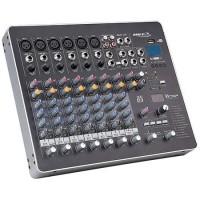 Mixer BST Phantom cu 8 canale, player USB, cititor MP3, USB incorporat