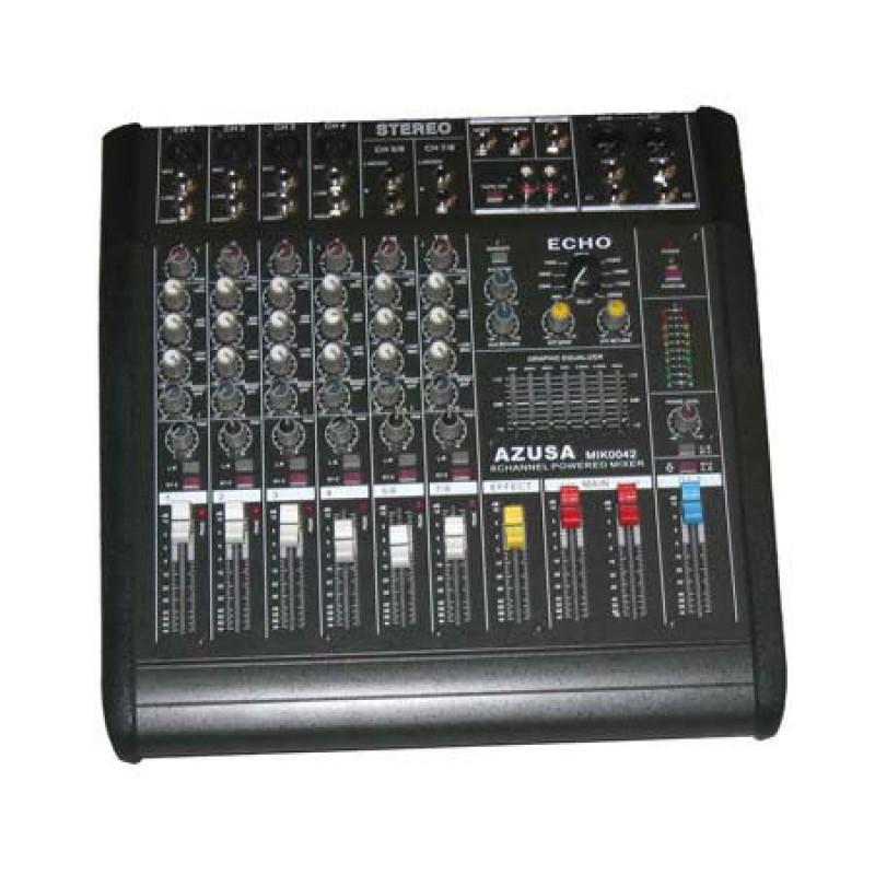 Mixer si amplificator PMQ2108, 2 x 240 W, 8 canale 2021 shopu.ro