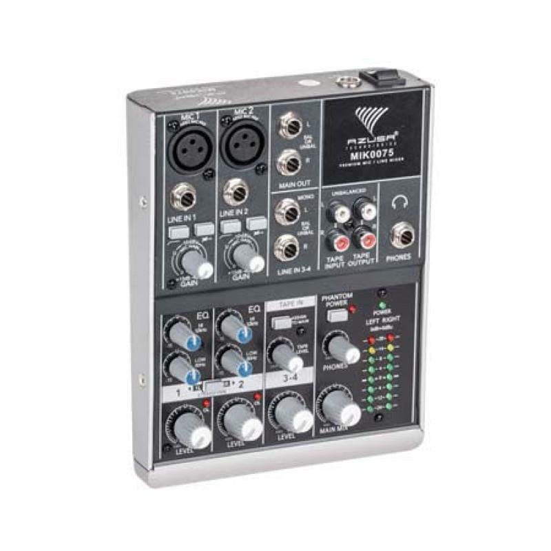 Mixer audio Azusa, 4 canale, 8 W 2021 shopu.ro