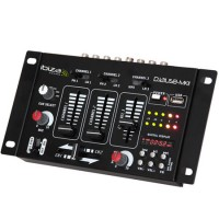 Mixer DJ Ibiza, Display digital, USB, 7 canale