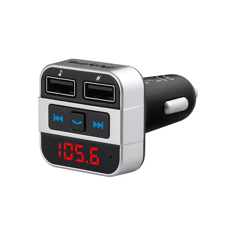 Modulator FM Peiying, Bluetooth, 2 USB, maxim 64 gb 2021 shopu.ro
