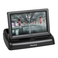 Monitor Auto TFT Peiying, 4.3 inch, 2 intrari video, 5W