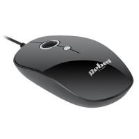 Mouse cu fir Rebel WDM100, USB 2.0, negru