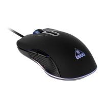 Mouse gaming Warrior Kruger Matz GM-70, 7 butoane, 4 moduri lumina, USB 2.0, Negru