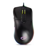 Mouse optic Gaming Sniper Esperanza, 200 dpi, conectivitate USB, Negru