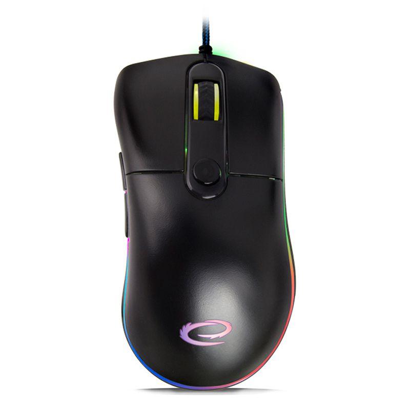 Mouse optic Gaming Sniper Esperanza, 200 dpi, conectivitate USB, Negru 2021 shopu.ro