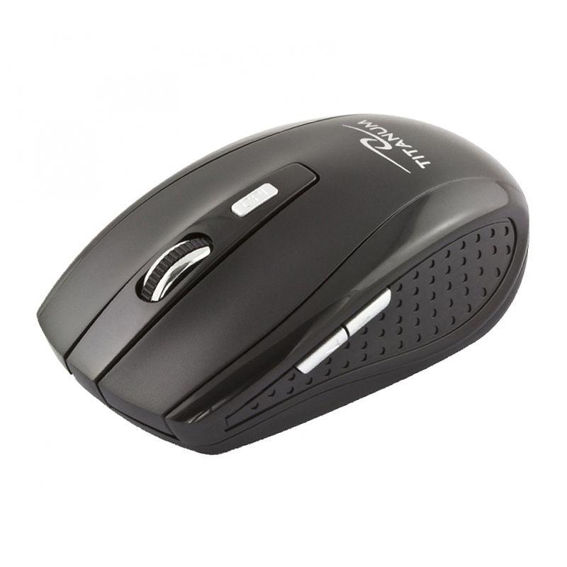 Mouse wireless Snapper Esperanza, 2.4 GHz, 1600 DPI, USB, 6 butoane, senzor optic 2021 shopu.ro
