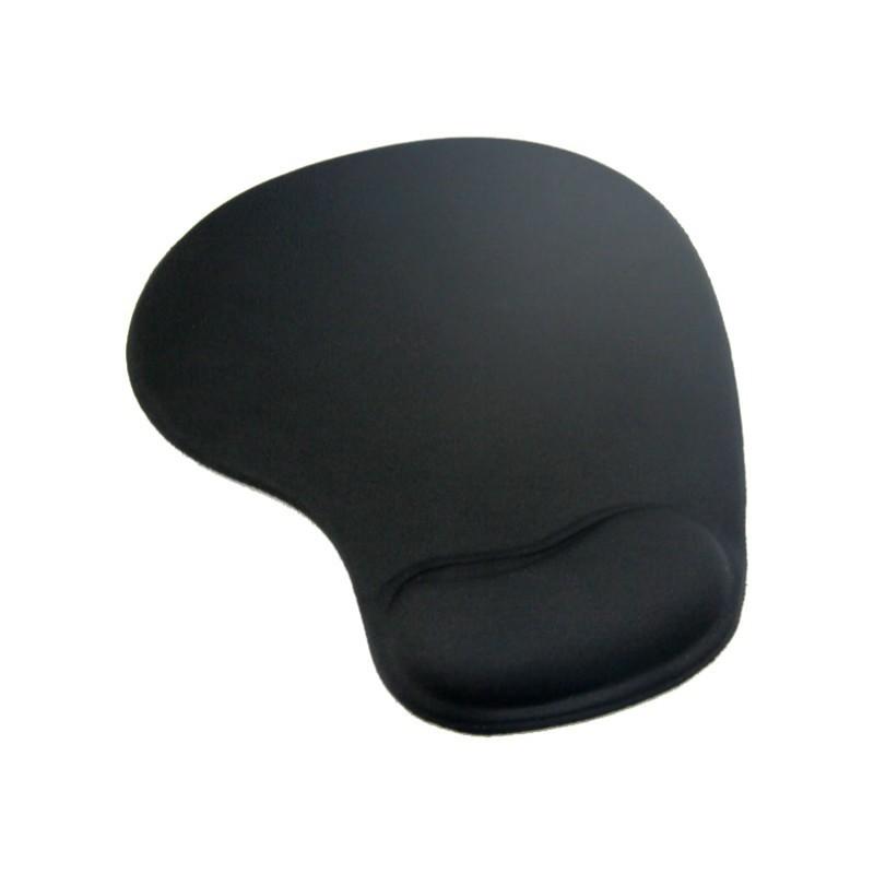 Mousepad cu gel Omega, reduce leziunile, Negru 2021 shopu.ro