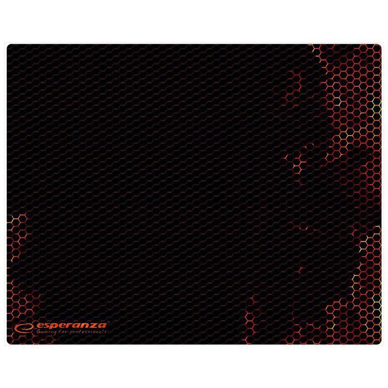 Mouse pad gaming, 40 x 30 cm, Rosu 2021 shopu.ro