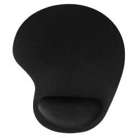 Mousepad cu gel Esperanza, material polipropilena, Negru