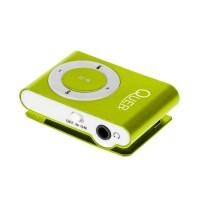 Mini MP3 Player Quer, maxim 32 Gb, verde