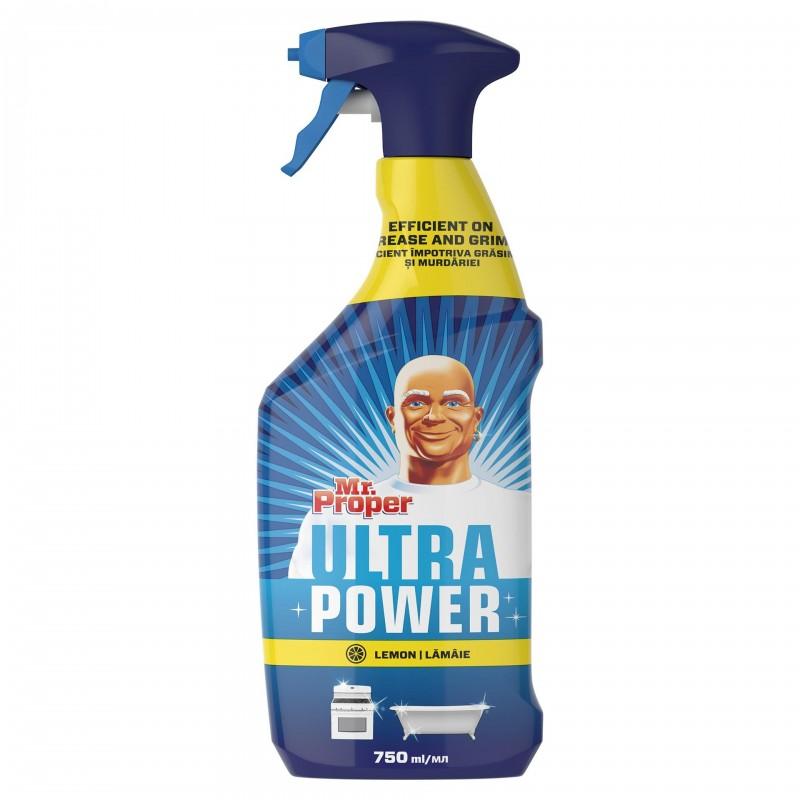 Spray universal Mr. Proper Lemon, 750 ml 2021 shopu.ro