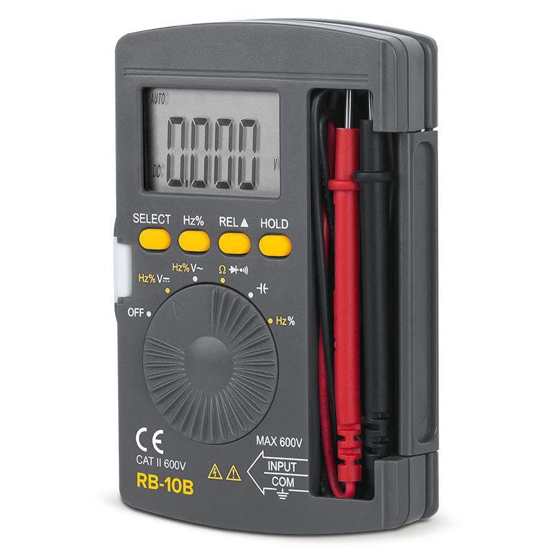 Multimetru buzunar Rebel, testare dioda, testare continuitate 2021 shopu.ro