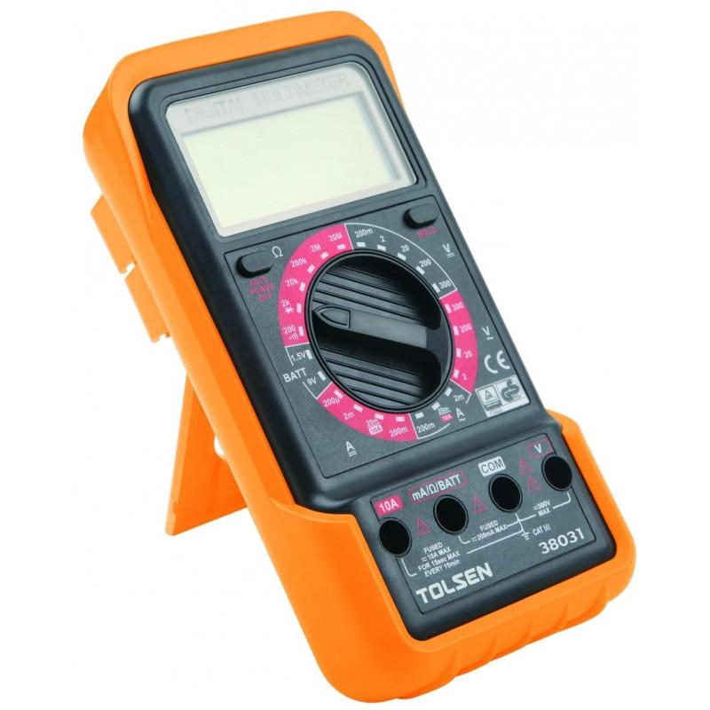 Multimetru digital Tolsen, 250 V, 10 V, 200 m 2021 shopu.ro