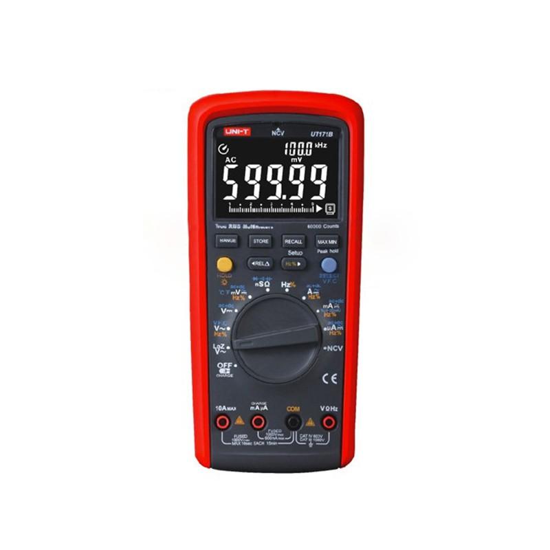 Multimetru digital industrial UT171B, true RMS, interfata USB