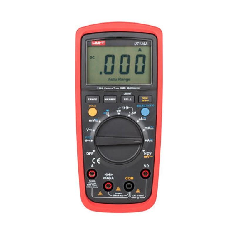 Multimetru digital universal UT139A UNI-T, true RMS, buzzer continuitate