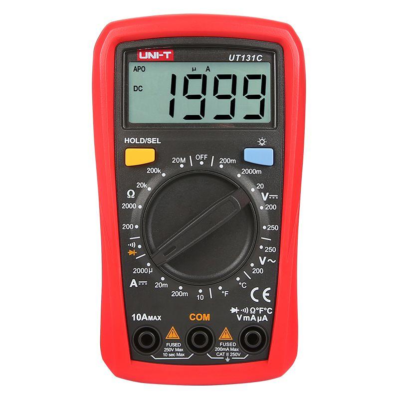 Multimetru digital UNI-T UT131C, LCD, verificare diode shopu.ro