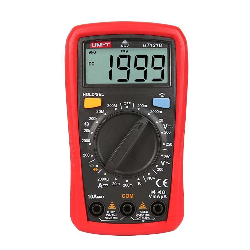 Multimetru digital UT131D UNI-T, tester continuitate cu buzzer 2021 shopu.ro