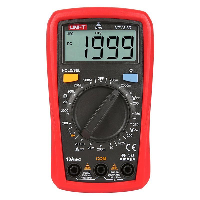 Multimetru digital UT131D UNI-T, detectare non-contact