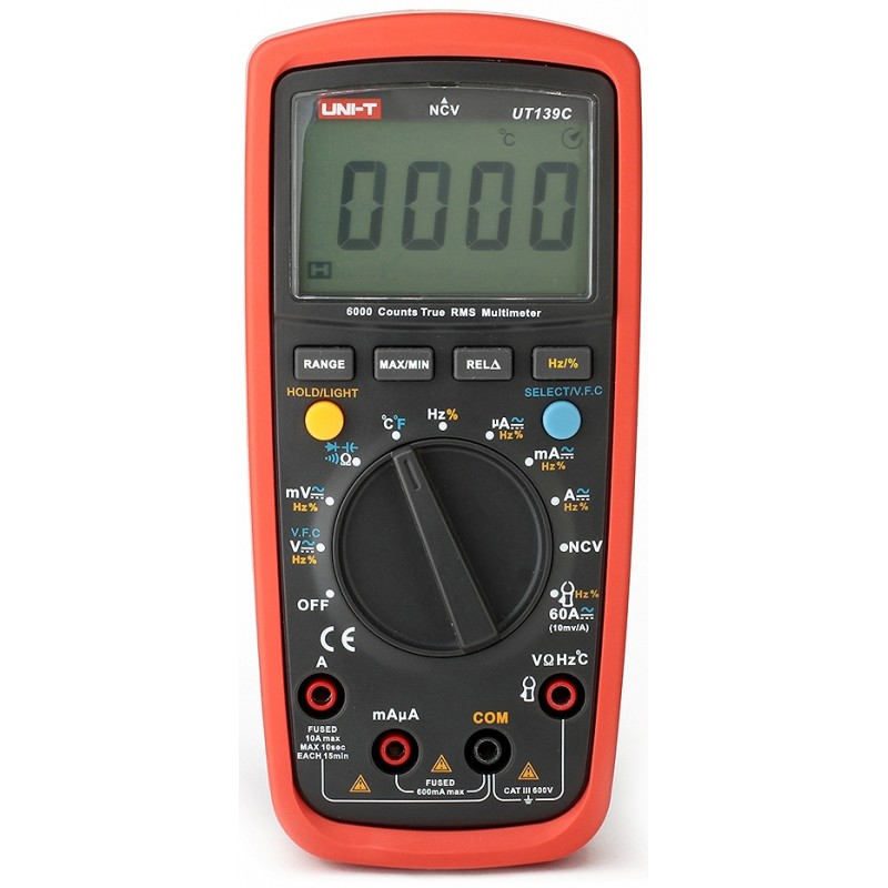 Multimetru digital UT139C UNI-T, NVC, memorarea datelor 2021 shopu.ro