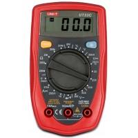 Multimetru digital UT33C UNI-T, 5 functii, sonda de masurare a temperaturii