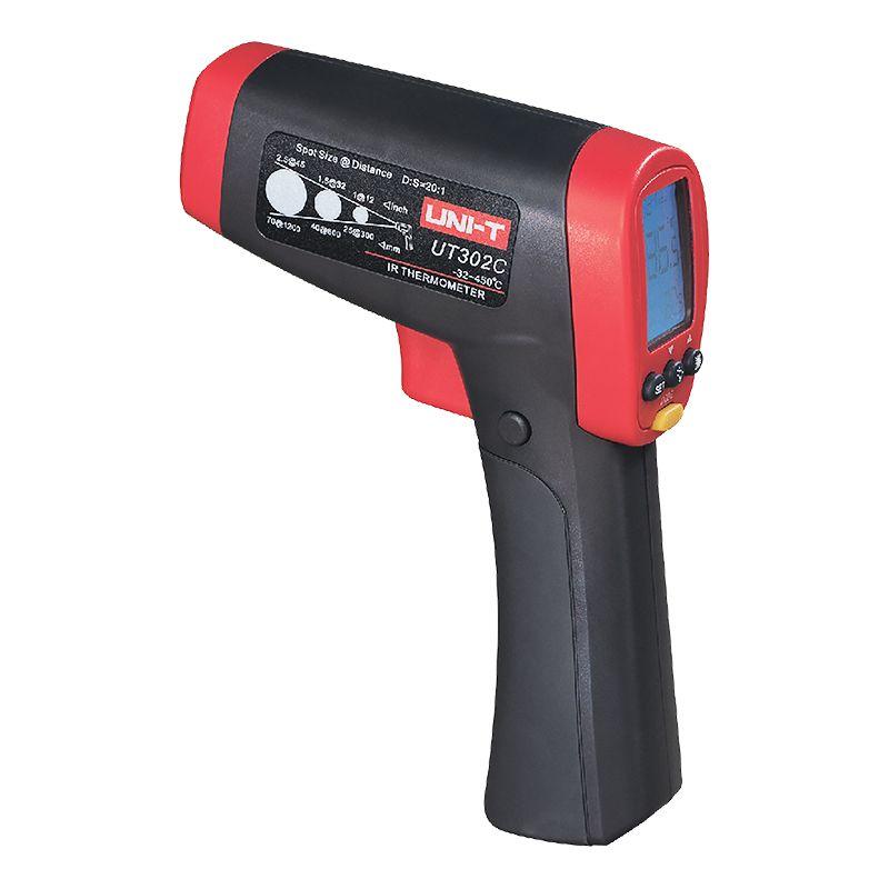 Termometru tip pirometru Unit-T UT302C, ecran LCD, unda 670 NM, laser clasa 2 2021 shopu.ro