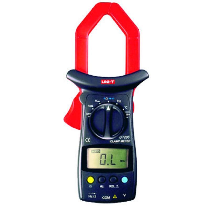 Multimetru tip clampmetru UNI-T UT206, testare diode 2021 shopu.ro