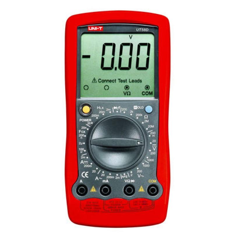 Multimetru digital UNI-T UT58D, testare diode, oprire automata 2021 shopu.ro