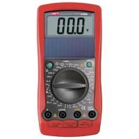 Multimetru UT90B Uni-T, ecran LCD, alimentare baterii, Rosu