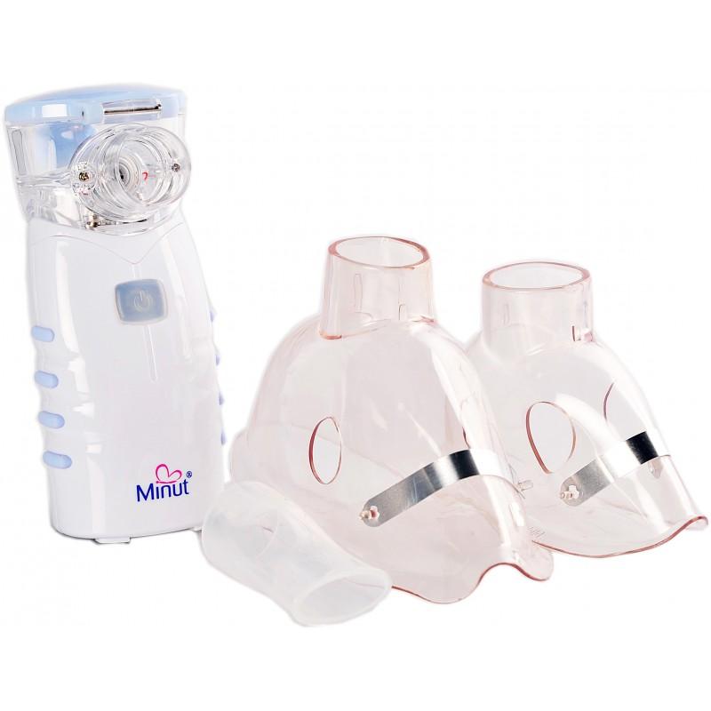 Nebulizator ultrasonic cu membrana mesh Minut, 12 ml 2021 shopu.ro