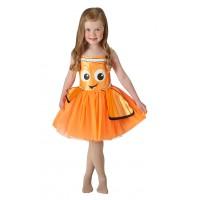 Rochita Tutu Nemo, varsta 2-3 ani, marime Toddler, Portocaliu