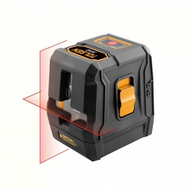 Nivela laser cu autonivelare Tolsen, 20 m, mod incrucisat, functie autonivelare shopu.ro