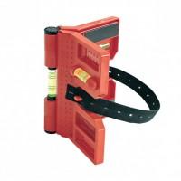 Nivela plastic magnetica Proline pentru stalpi, 3 bule, 135 mm
