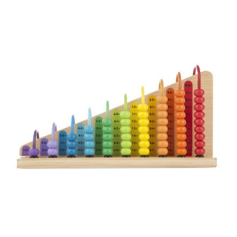 Numaratoare adunarea si scaderea, 18 x 33 x 10 cm, Multicolor 2021 shopu.ro