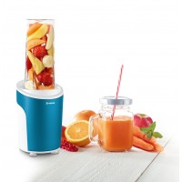 Nutriblender juicer Trisa Power Smoothie, cutit 4 lame, 21000 rpm, albastru