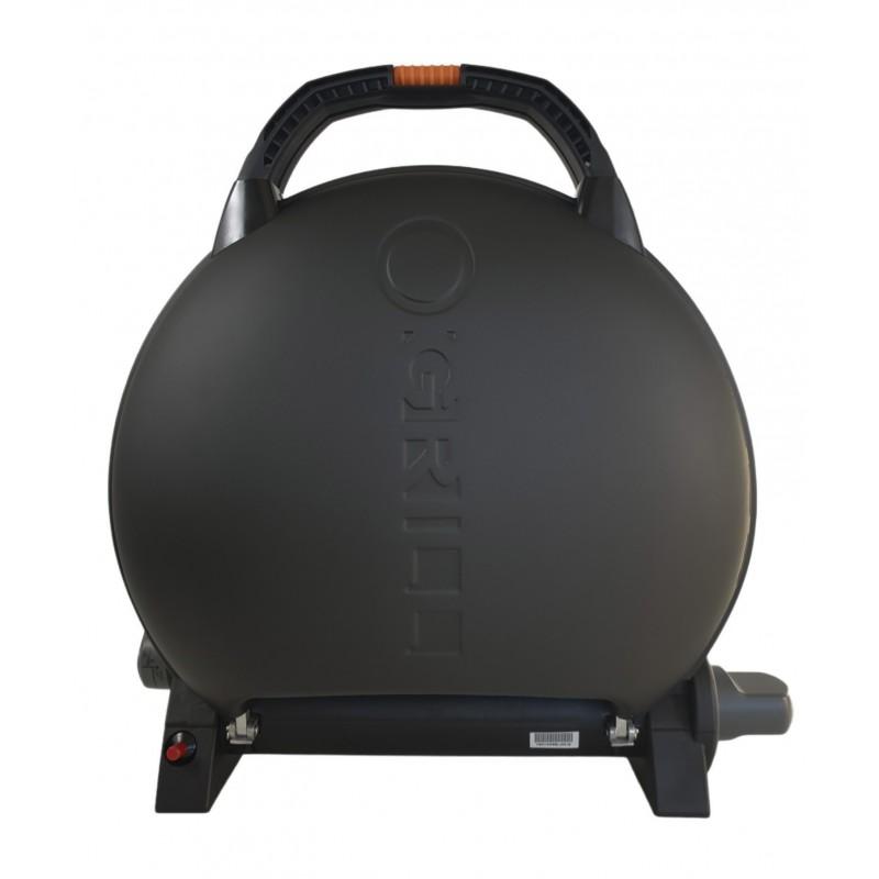 Gratar portabil cu capac O-GRILL 600, 3.2 kW, aprindere automata, 232 g/h, temperatura reglabila, Negru shopu.ro