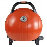 Gratar portabil cu capac O-GRILL 900, 3.2 kW, aprindere automata, 232 g/h, afisaj temperatura, Portocaliu