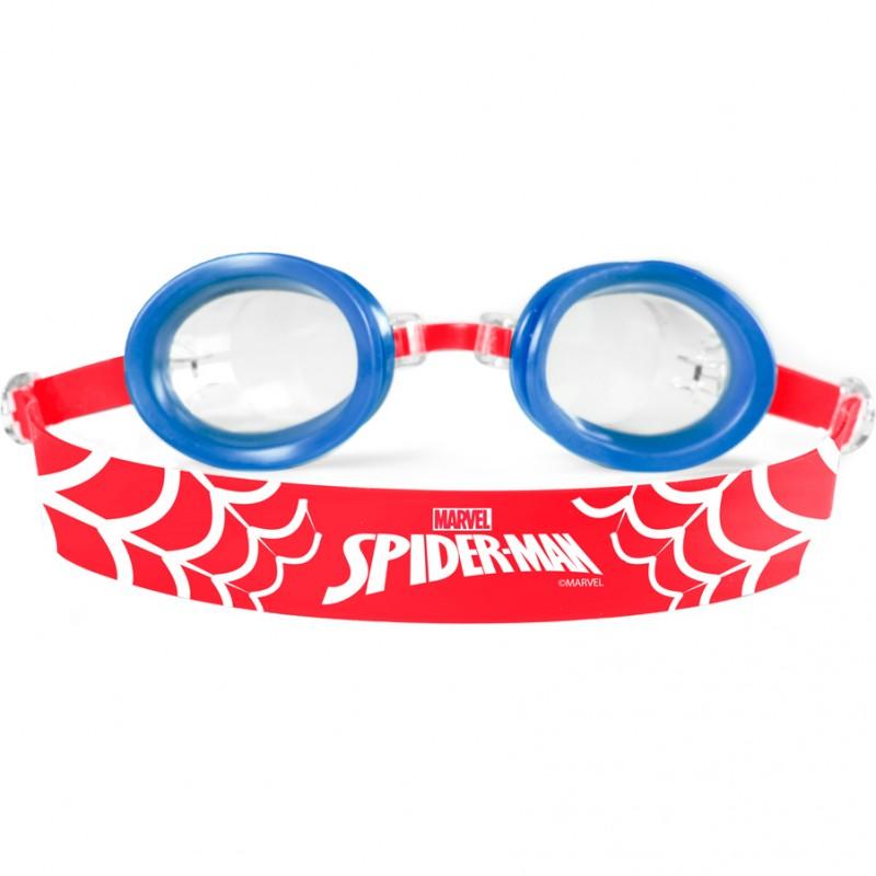 Ochelari inot Spiderman Seven, silicon, lungime reglabila, marime universala, 3 ani+, Rosu/Albastru 2021 shopu.ro