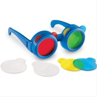 Ochelari pentru mixarea culorilor, lentile usor de schimbat, 3 - 7 ani