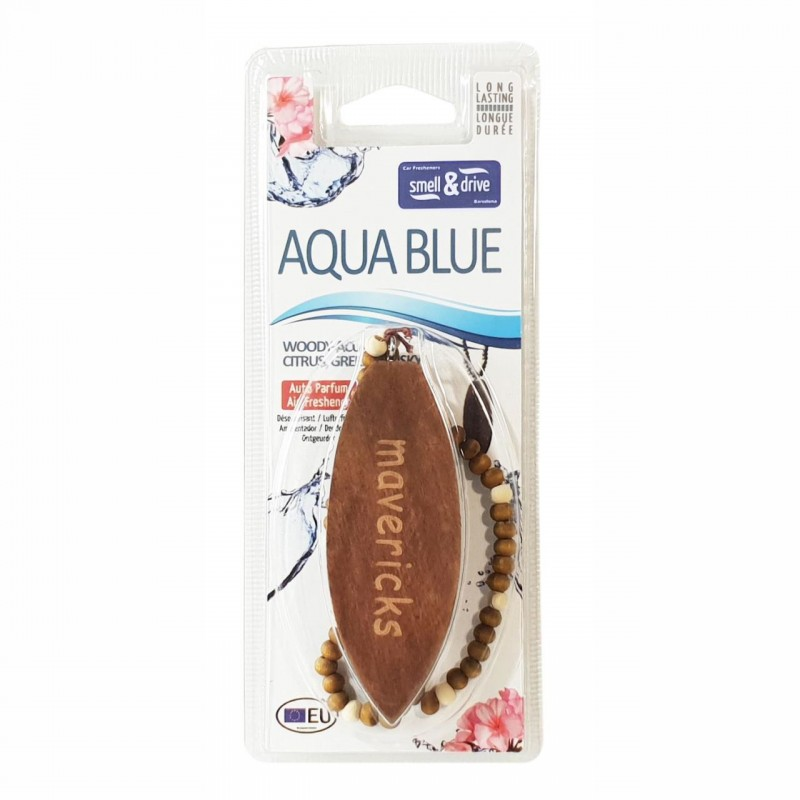 Odorizant auto Smell n Drive Surf Mavericks, aroma Aqua Blue 2021 shopu.ro