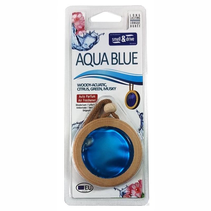 Odorizant auto tip membrana Smell n Drive, 6 ml, aroma Aqua Blue 2021 shopu.ro