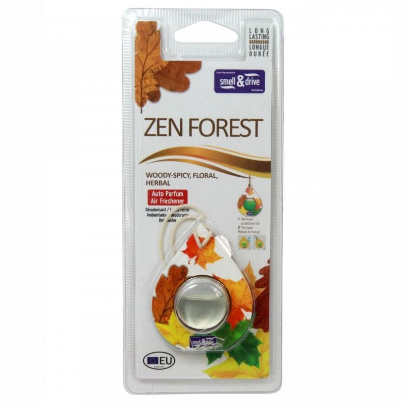 Odorizant auto tip membrana Smell n Drive Zen Forest, 2.5 ml 2021 shopu.ro