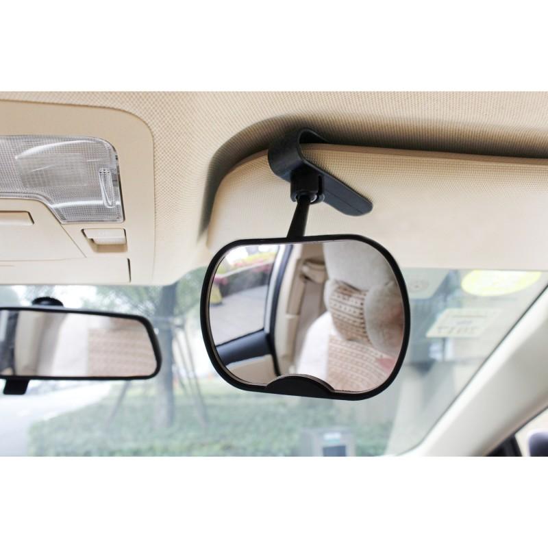 Oglinda auto retrovizoare Altabebe, 10.1 x 7.1 cm, rotire 360 grade