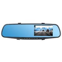 Oglinda DVR si camera mansarier Peiying, acumulator 450 h, senzor G