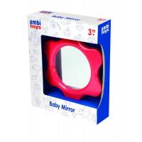Oglinda floricica pentru bebelusi Ambi Toys, stimuleaza si dezvolta vederea
